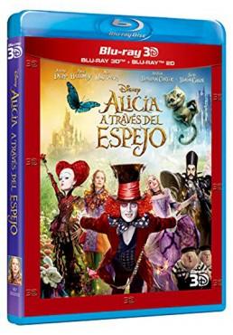 Alicia a través del espejo (Blu-ray + Blu-ray 3D) (Alice Through the Looking Glass)