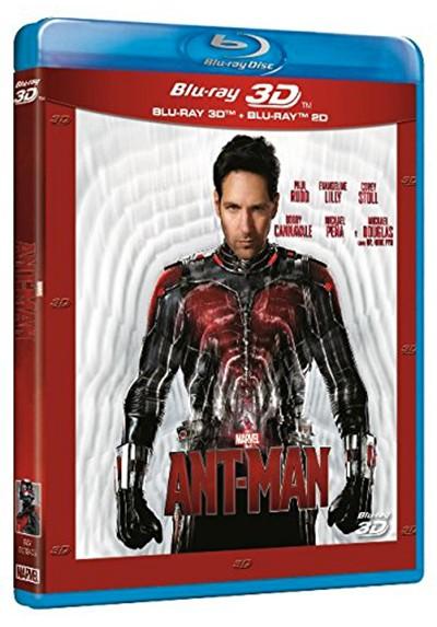 Ant-Man (Blu-ray + Blu-ray 3D)