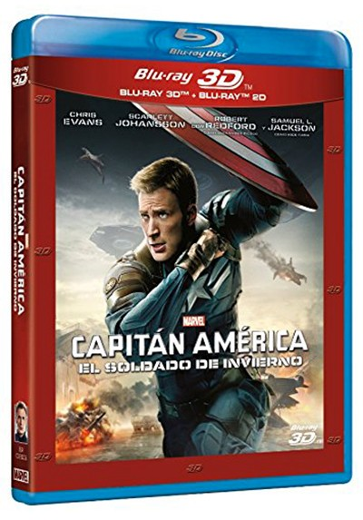 Capitán América: El Soldado de Invierno (Blu-ray + Blu-ray 3D) (Captain America: The Winter Soldier)