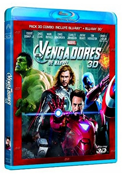 Los vengadores (Blu-ray + Blu-ray 3D) (The Avengers)
