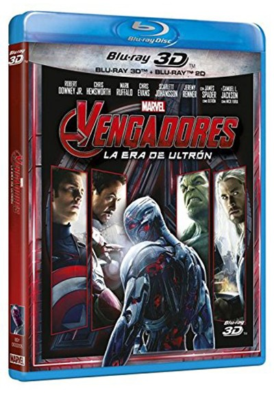 Vengadores: La era de Ultrón (Blu-ray + Blu-ray 3D) (Avengers: Age of Ultron) (The Avengers 2)