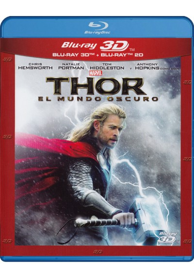 Thor: El mundo oscuro (Blu-ray + Blu-ray 3D) (Thor: The Dark World)