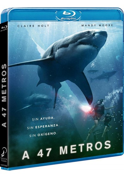 A 47 Metros (Blu-ray) (47 Meters Down)