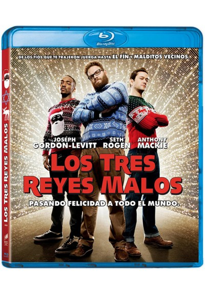 Los tres reyes malos (Blu-ray) (The Night Before)