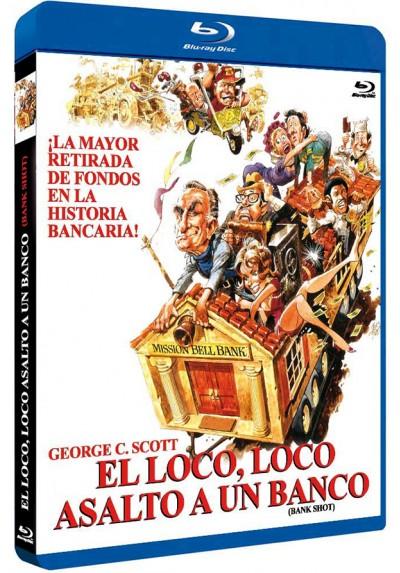 El Loco Loco Asalto A Un Banco (Blu-ray) (Bank Shot)