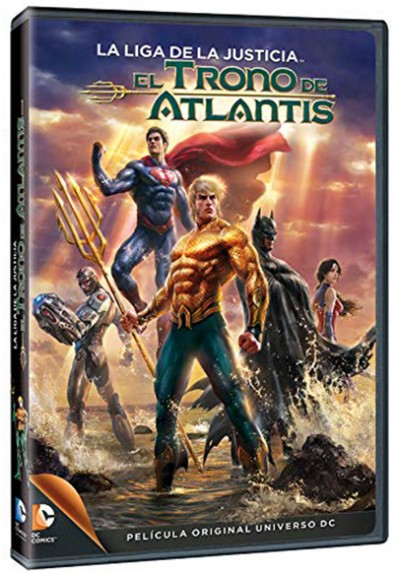 La liga de la justicia: El trono de Atlantis (Justice League: Throne of Atlantis)