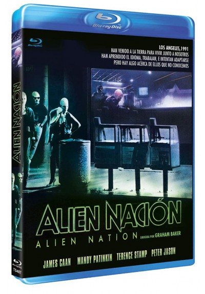 Alien nación (Blu-ray) (Alien Nation)