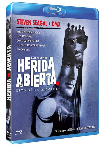 Herida abierta (Blu-ray) (Exit Wounds)