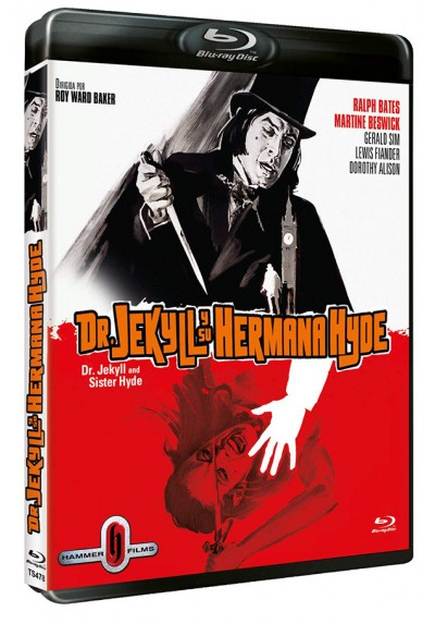 Dr. Jekyll y su hermana Hyde (Blu-ray) (Dr. Jekyll and Sister Hyde)