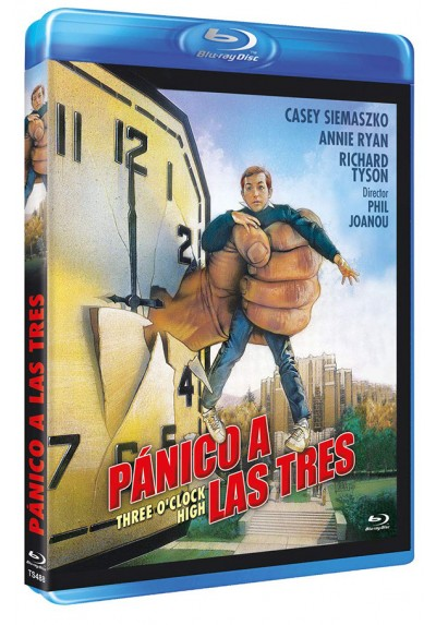 Pánico a las tres (Blu-ray) (Three O'Clock High)