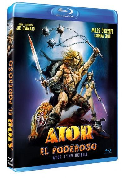 Ator el Poderoso (Blu-ray) (Ator l'invincibile)