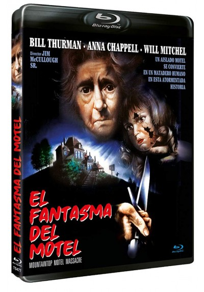 El Fantasma del Motel (Blu-ray) (Mountaintop Motel Massacre)