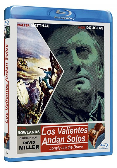 Los valientes andan solos (Blu-ray) (Bd-r) (Lonely are the Brave)