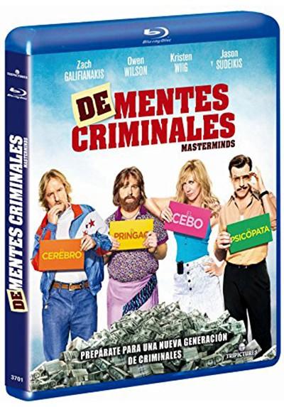 De-Mentes Criminales (Blu-ray) (Materminds)