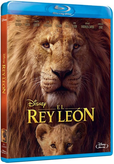 El Rey León (2019) (Blu-ray) (The Lion King)