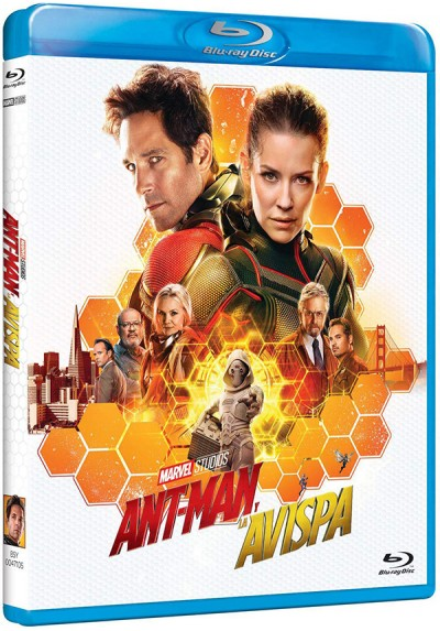 Ant-Man y la Avispa (Blu-ray) (Ant-Man and the Wasp)