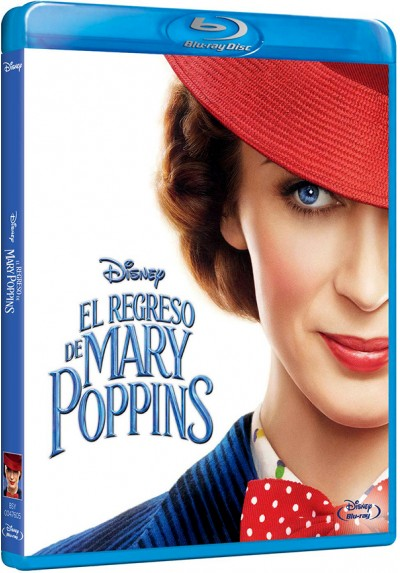 El regreso de Mary Poppins (Blu-ray) (Mary Poppins Returns)