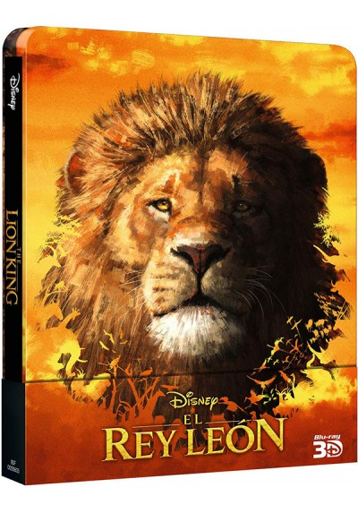 El Rey León (2019) Steelbook (3D + 2D) (Blu-ray) (The Lion King)