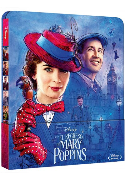 El regreso de Mary Poppins - Ed. Metálica (Blu-ray) (Mary Poppins Returns)