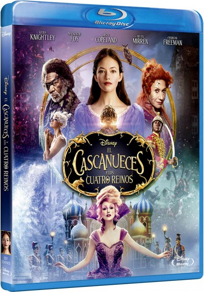 El cascanueces y los cuatro reinos (Blu-ray) (The Nutcracker and the Four Realms)