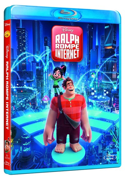 Ralph rompe Internet (Blu-ray) (Ralph Breaks the Internet)