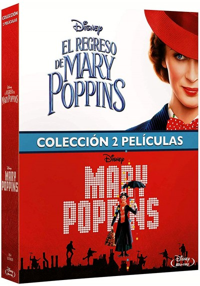 Pack Mary Poppins + Regreso Mary Poppins (Blu-ray)