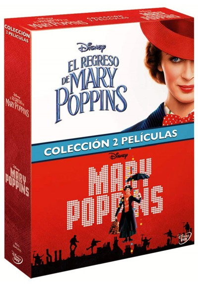 Pack Mary Poppins + Regreso Mary Poppins