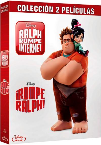 Pack Rompe Ralph + Ralph rompe internet (Blu-ray)