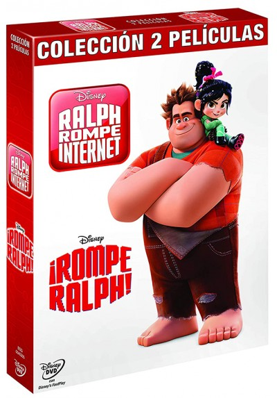 Pack Rompe Ralph + Ralph rompe internet