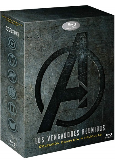 Pack Vengadores (Blu-ray)