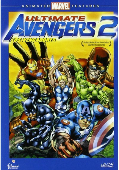 Ultimate avengers 2 - Vengadores 2 (Ultimate Avengers 2: Rise of the Panther)