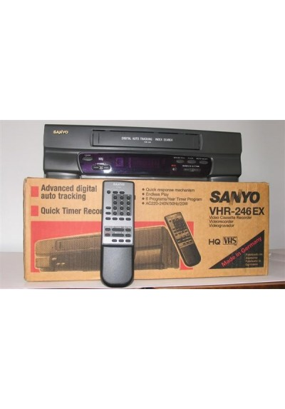 VIDEO VHS - SANYO VHR 246 EX - USADO