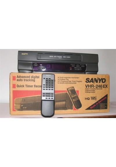 VIDEO VHS - SANYO VHR 246 EX - USADO
