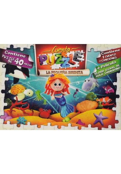 Cuentas Puzzle - La Pequeña Sirenita