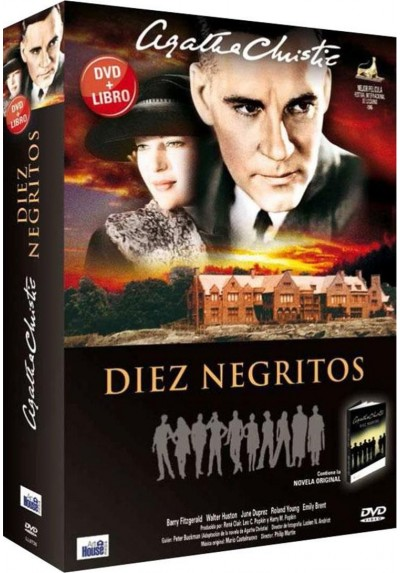 Diez Negritos + Libro - Agatha Christie (And Then There Were None)