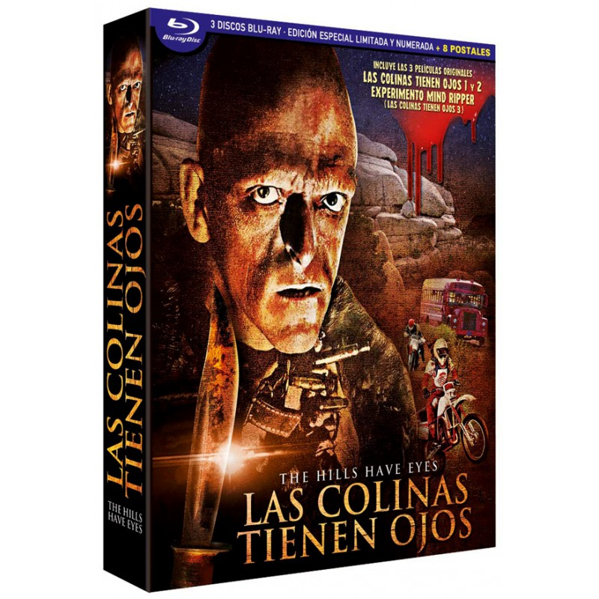 Digipack Trilogia Las Colinas Tienen Ojos