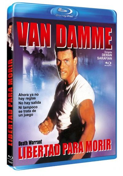 Libertad para morir (Blu-ray) (Death Warrant)