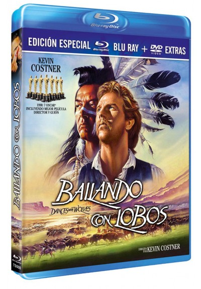 Bailando con lobos (Blu-ray + DVD) (Dances with Wolves)
