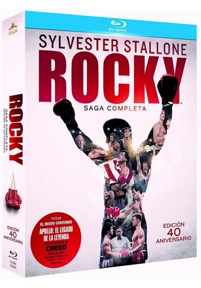 Pack Rocky: La Saga Completa (Blu-ray)