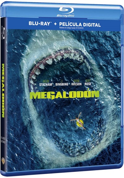 Megalodón (Blu-ray) (The Meg)
