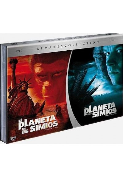 Remakes Collection: El Planeta de los Simios (1968) y (2001)