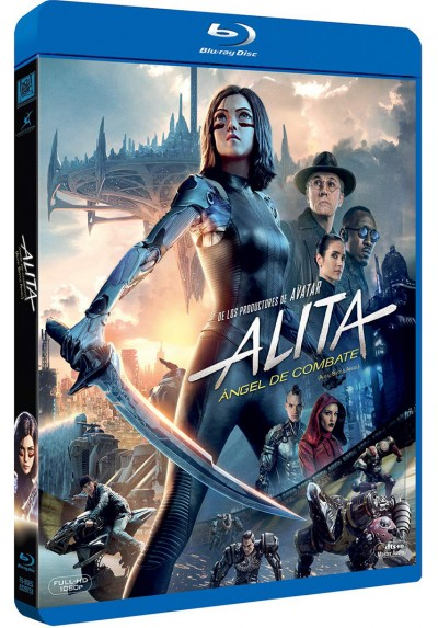 Alita, Ángel de combate (Blu-ray) (Alita, Battle Angel)