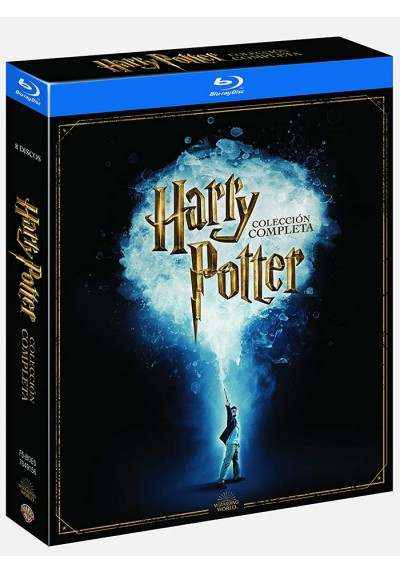 Harry Potter - Saga Completa (Ed. 19) (Blu-ray)
