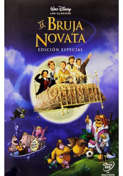 La Bruja novata (Bedknobs and Broomsticks)