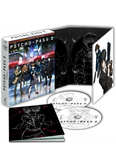 Psycho Pass : 2ª Temporada Completa (Blu-Ray + Extras)
