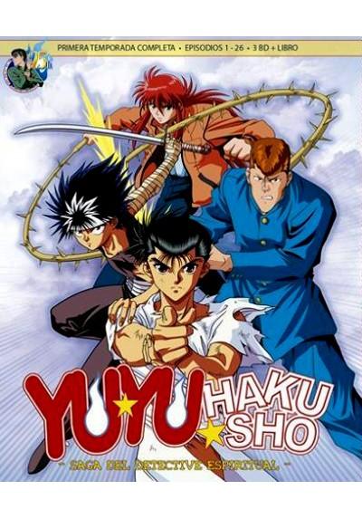 Yu Yu Hakusho Box 1 -La Saga Del Detective Espiritual - Serie Completa (Blu-Ray)