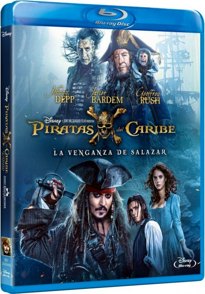 Piratas del Caribe: La venganza de Salazar (Blu-ray) (Pirates of the Caribbean: Dead Men Tell No Tales)