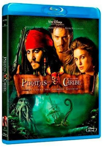 Piratas del Caribe: El Cofre del Hombre Muerto (Blu-ray) (Pirates of the Caribbean: Dead Man's Chest )