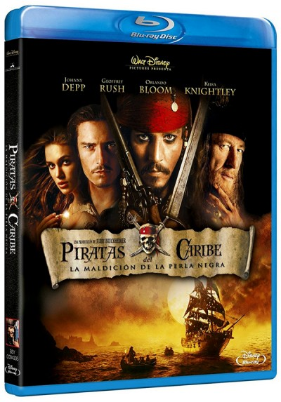 Piratas Del Caribe : La Maldicion De La Perla Negra (Blu-ray) (Pirates of the Caribbean: The Curse of the Black Pearl)