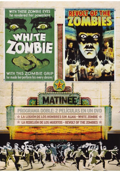 Matinee zombies - Programa Doble